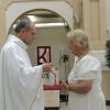 Primeira Eucaristia na Matriz.