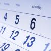 Aniversários e datas comemorativas de fevereiro