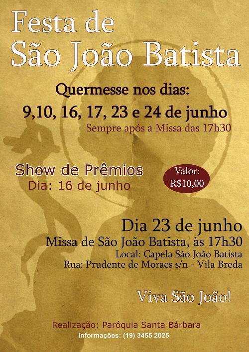 Cartaz 2018 São João1